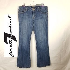 7 For All Mankind Jean's Flare Sz 32